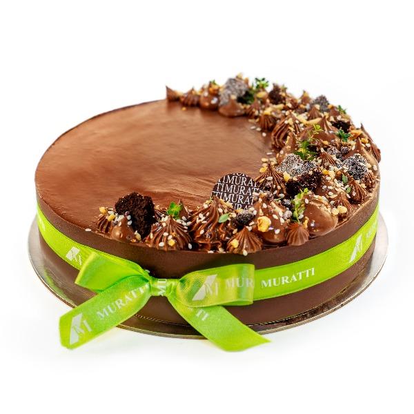 Coconut & Chocolate Gateaux
